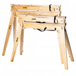 Hide-A-Horse Sawhorses are foldable, durable, and lightweight. Great for any job and built to last.