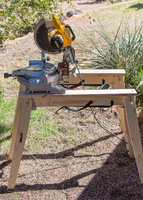 Hide A Horse Folding sawhorses can make light work of any job. Use your favorite tool on a stable and sturdy sawhorse.